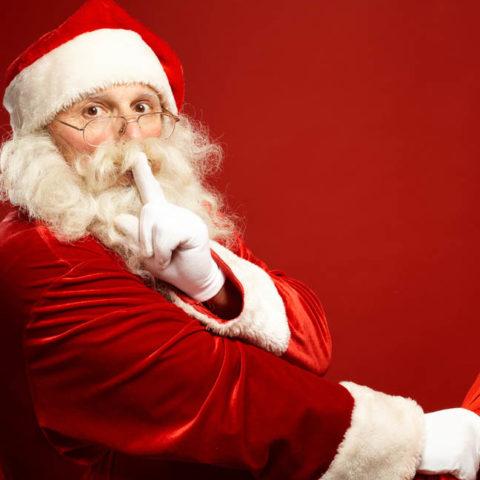 Chegada do Papai Noel dia 23 de dezembro