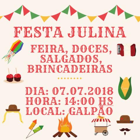 Festa Julina da SRARF